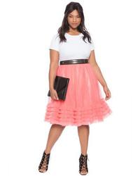 7ab4ff76c07 ... ELOQUII Plus Size Layered Tulle Skirt