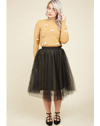 Esley Gold Stomping Grounds Tulle Skirt