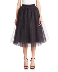 Elizabeth and James Everleigh Tulle Midi Ball Skirt