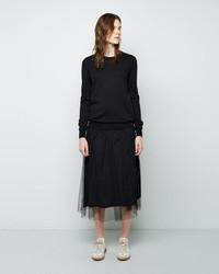 Maison Margiela Line 1 Tulle Skirt