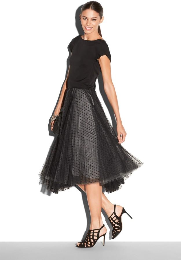 Tea Length Full Skirt