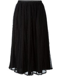 Red valentino tulle layered skirt medium 842654