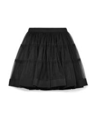 Moschino Silk Med Tulle Mini Skirt