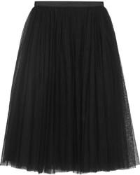 Needle & Thread Tulle Skirt Black