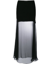 Givenchy Sheer Maxi Skirt