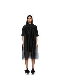 MM6 MAISON MARGIELA Black Tulle Dress