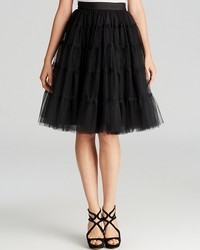 Alice + Olivia Skirt Darcy Tiered Tulle