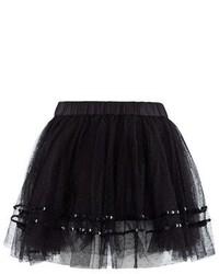 BOSS Black Tulle Seqiun Skirt