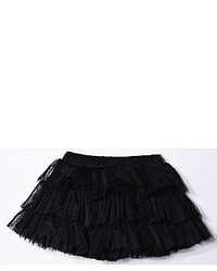 Little Mass Solid Three Tier Tutu Skirt