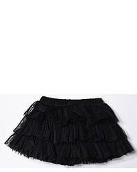 Little Mass Solid Three Tier Tutu Skirt