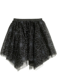 H&M Tulle Skirt Blackglittery Kids