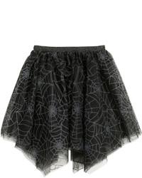 H&M Tulle Skirt Blackglittery Kids