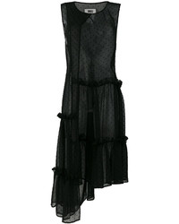 MM6 MAISON MARGIELA Asymmetric Tulle Tunic