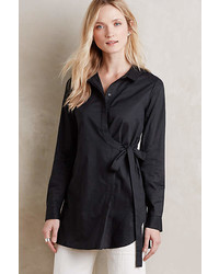 Hd In Paris Knotted Poplin Tunic