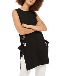 Lace up grommet tunic medium 5264900