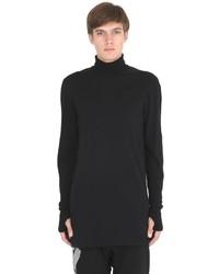 11 By Boris Bidjan Saberi Turtleneck Cotton Jersey T Shirt
