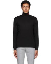 Hugo Black Derollo Long Sleeve T Shirt