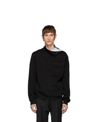 Burberry Black Knit Rollneck Sweater