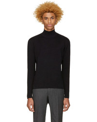Tiger of Sweden Black North Turtleneck