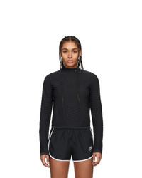 Nike Black Run City Ready Turtleneck