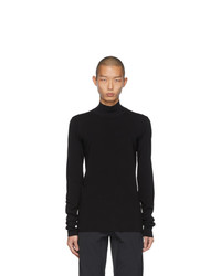 Bottega Veneta Black Techno Turtleneck