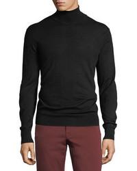 Neiman Marcus Cashmere Silk Turtleneck Sweater