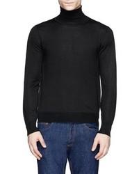 Nobrand Cashmere Silk Turtleneck Sweater