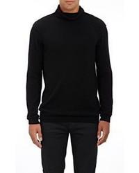 Helmut Lang Cashmere Turtleneck Sweater Black