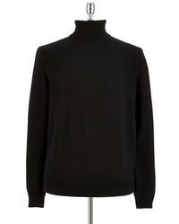 Black Brown 1826 Cashmere Turtleneck Sweater