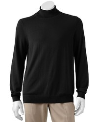 Croft Barrow Solid Lightweight Turtleneck Sweater Big Tall