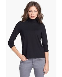 Eileen Fisher Scrunch Neck Top