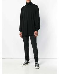 Rick Owens DRKSHDW Fine Knit Turtleneck Sweater