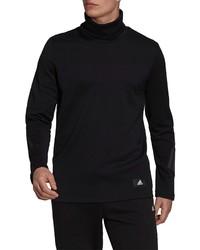 adidas Future Icons Winterized Mock Neck Long Sleeve T Shirt