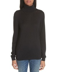 Burberry Kisco Silk Cashmere Turtleneck Sweater