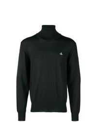 Vivienne Westwood Logo Turtleneck Sweater