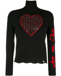 Love me turtleneck sweater medium 3776514