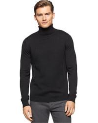 Calvin Klein Merino Wool Long Sleeve Turtleneck