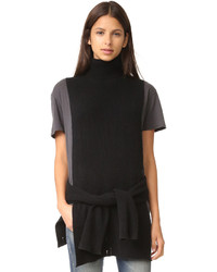 R13 convertible funnel neck sweater medium 786948