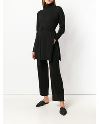 Lamberto Losani Roll Neck Longline Sweater