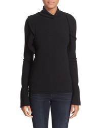 IRO Ruffle Turtleneck