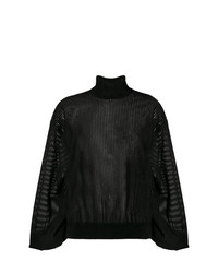 Givenchy Sheer Roll Neck Sweater