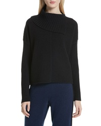 Nordstrom Signature Split Turtleneck Cashmere Sweater