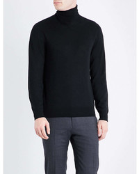 Ralph Lauren Purple Label Turtleneck Fine Knit Cashmere Jumper