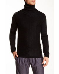 Antony Morato Wool Blend Turtleneck Sweater