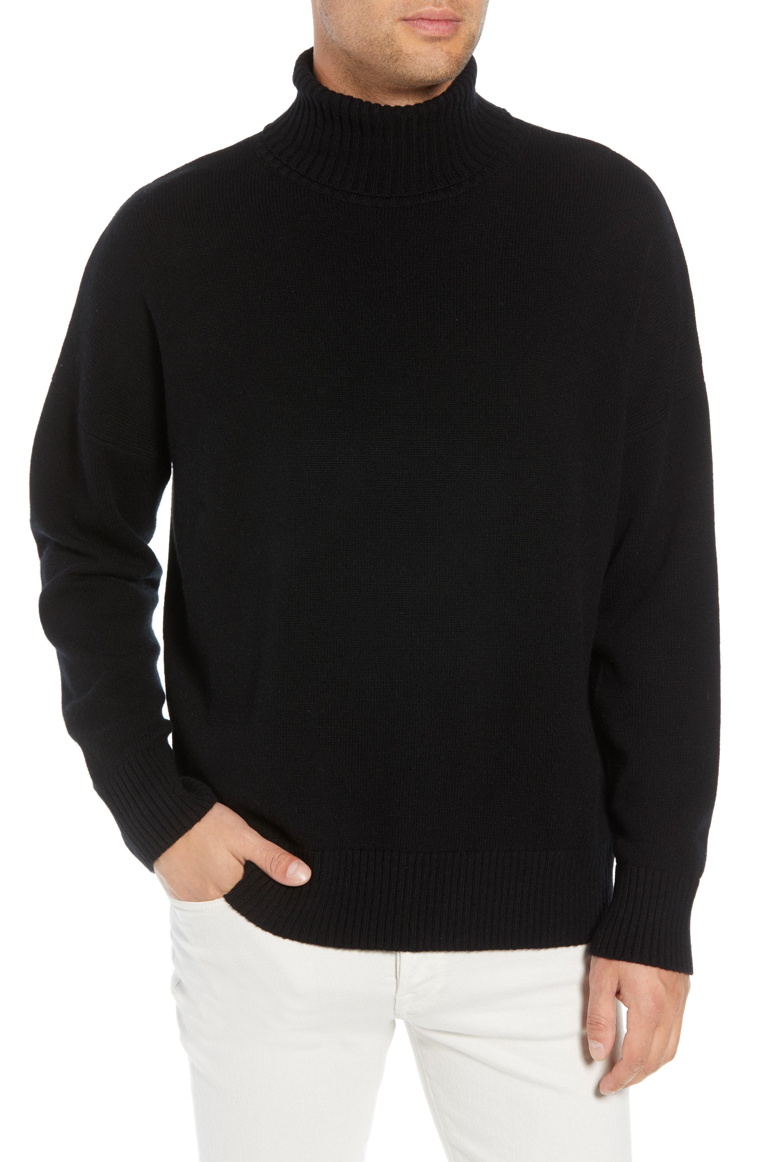 The Kooples Wool Cashmere Turtleneck Sweater