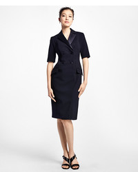 Brooks Brothers Double Breasted Tuxedo Dress