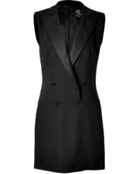 McQ by Alexander McQueen Mcq Alexander Mcqueen Satin Tux Dress