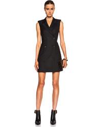 McQ by Alexander McQueen Mcq Alexander Mcqueen Wool Tuxedo Dress
