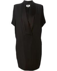 Mm6 Maison Margiela Sleeveless Tuxedo Dress