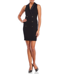 Jessica Simpson Shawl Collar Tuxedo Dress